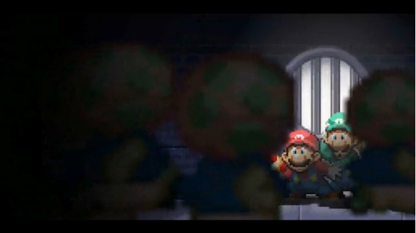 Mario and Luigi are in deep trouble